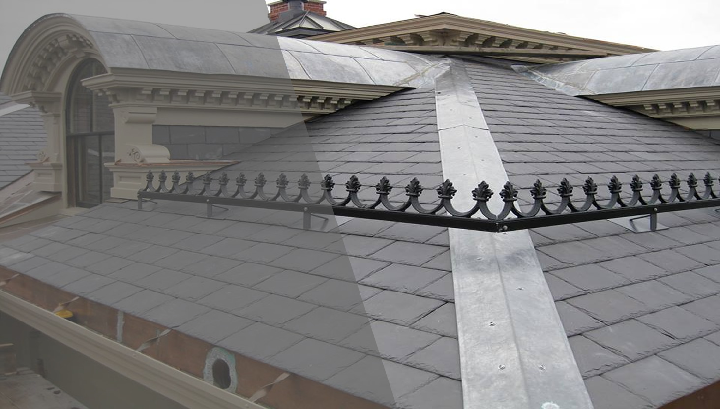 Slate Roof - Quality Craftsmanship since 1919 - By J.B Kidney Roofing, Salem, MA